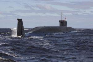A new Russian nuclear submarine, the Yur